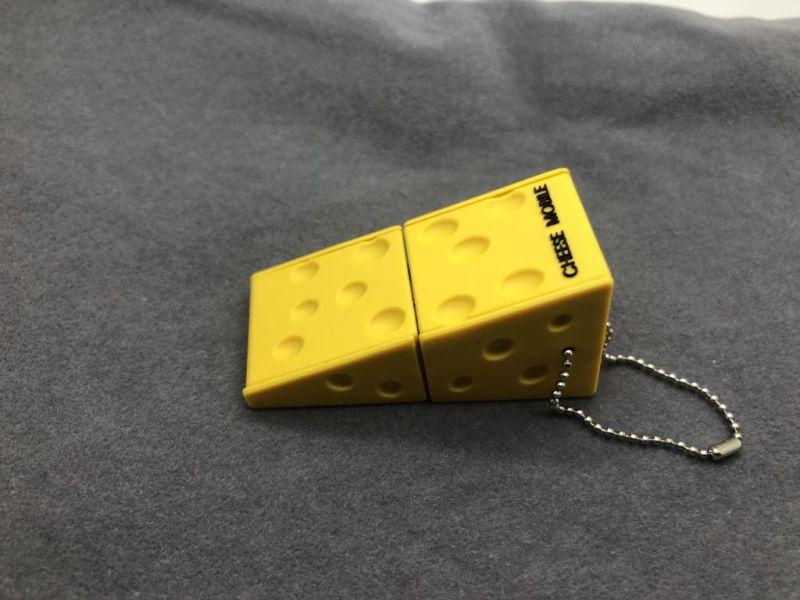 รับทำ แฟลชไดร์ฟยางหยอด รูปชีส USB รูปการ์ตูน สั่งทำแฟลชไดร์ฟยางพีวีซี