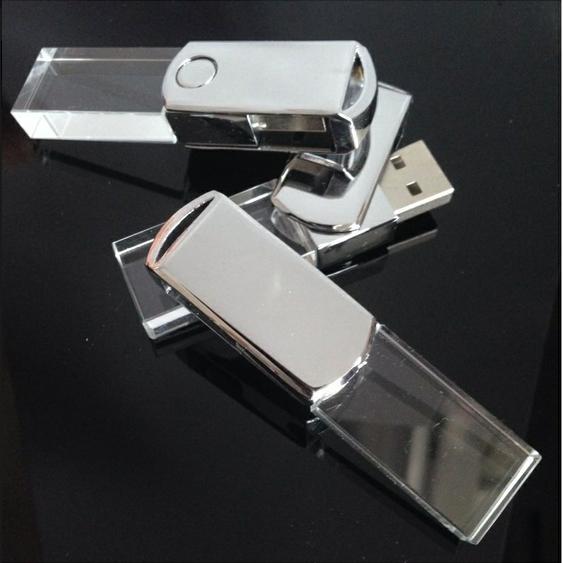 รับทำ ขายส่ง flash drive แฟลชไดร์ฟ คริสตัล ติดโลโก้ BMW สวยงาม คุณภาพดี