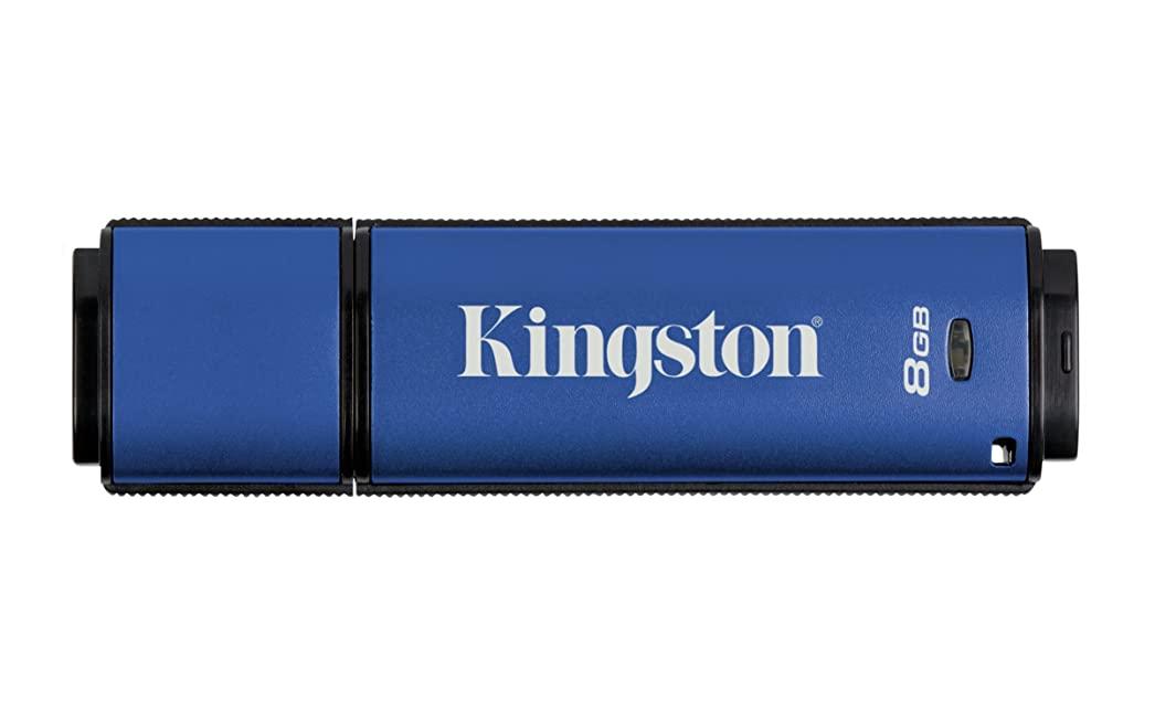 คิงส์ตันราคาส่ง ติดโลโก้ Data AES Digital USB-Flash-drive 8GB
