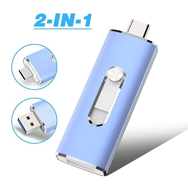 Dual-drive 2in1 Metal 32GB ขายส่งแฟลชไดร์ฟ พรี่เมี่ยม Premium