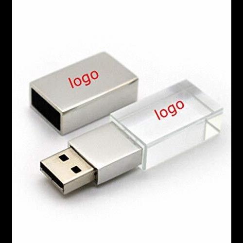 รับทำ ขายส่งแฟลชไดร์ฟคริสตัล สั่งทำ Crystal USB แกะสลัก ชื่อบริษัท เอซอฟท์วัน