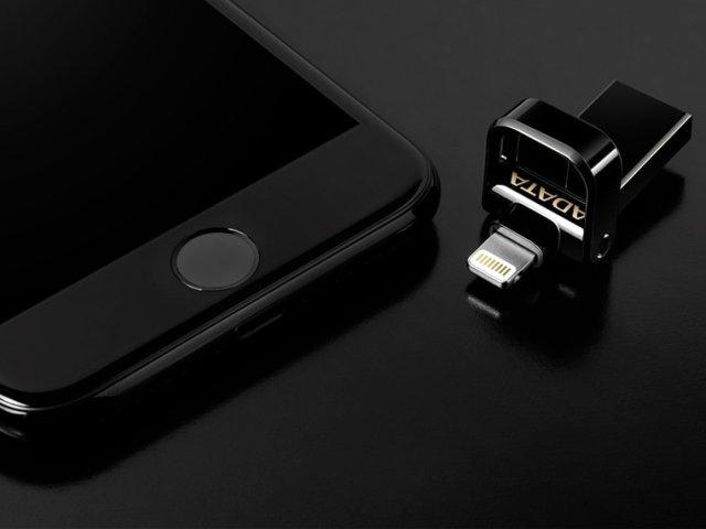 สั่งผลิต แฟลชไดร์ฟสีดำ สําหรับไอโฟน สำรองข้อมูลไอแพด ทรัมไดร์ ต่อไอพอด adata