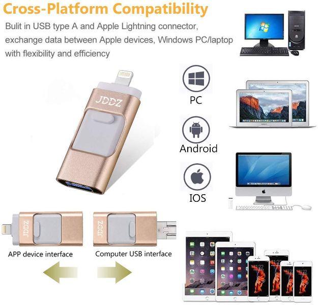 รับทำ แฟลชไดร์ฟไอโฟนราคาส่ง Flash Drive iPhone External Storage