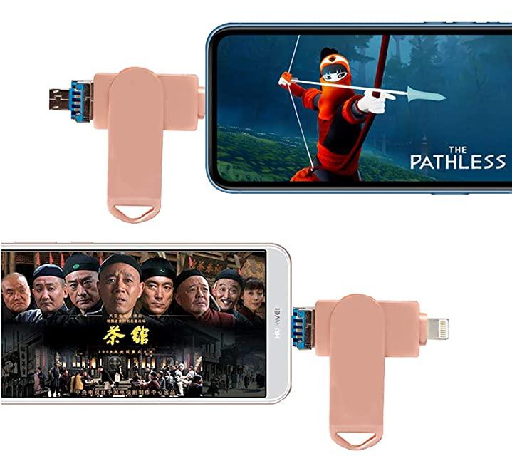 รับผลิต ขายส่ง ที่เก็บข้อมูลไอแพด แท้ ราคา Memory-Stick 3in1 Metal