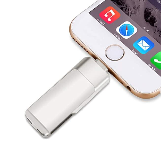 แฟลชไดร์ฟไอโฟน Memory-Stick USB3.0 USB-Flash-drive 64gb