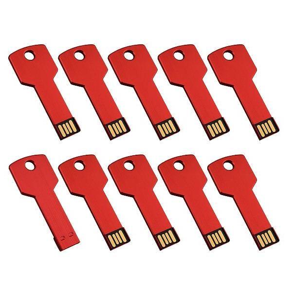 รับทำ ขายส่ง แฟลชไดร์ฟรูปกุญแจการ์ตูน สั่งทำ metal flash drive โลหะ ราคาถูก