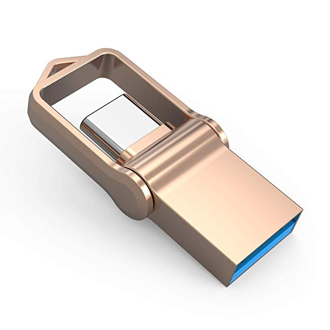 รับผลิต Metal Keychain Memory-Stick 128GB Premium ราคาถูก พรี่เมี่ยม