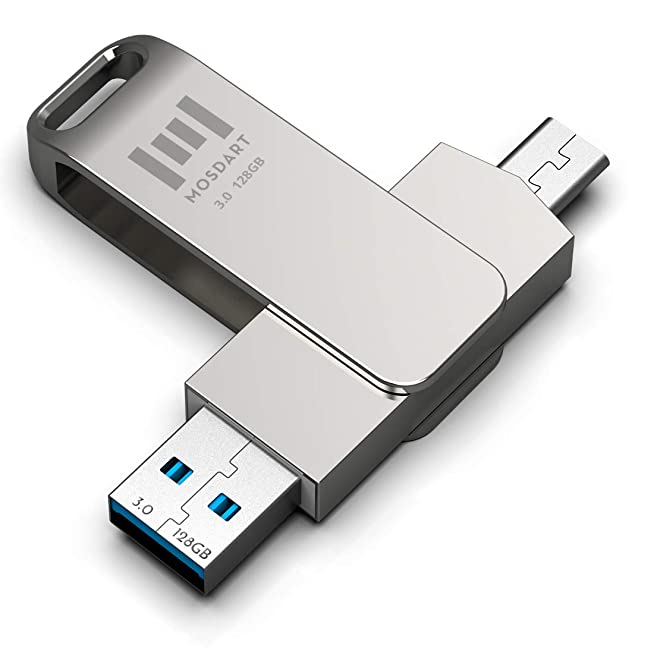 Metal Type-C Dual Memory-Stick ขายส่งแฟลชไดร์ฟ Premium