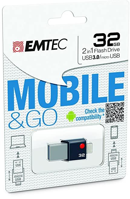 รับผลิต MicroUSB Dual Waterproof 64GB ขายส่งแฟลชไดร์ฟ Premium