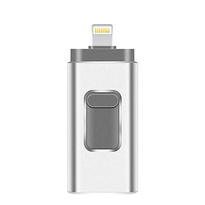 รับทำ ขายส่ง ที่เก็บข้อมูลไอแพด แท้ ราคา OTG Metal 3in1 USB3.0 8gb