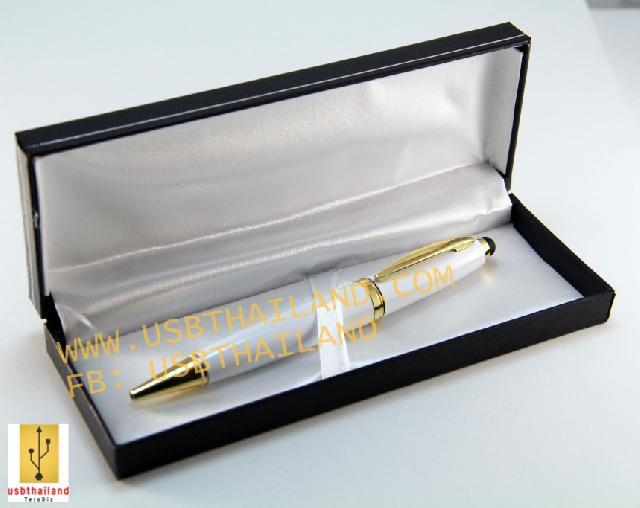 รับทำ ขายส่งแฟลชไดร์ฟปากกา และรับผลิต flash drive พร้อมกล่องสีดำ ดูหรูหรา