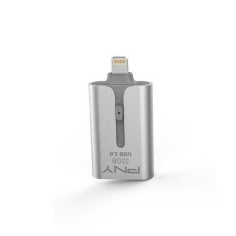 OTG Flash Drive Duo-Link 3.0 สำหรับ iPhone และ iPad จาก PNY 64GB