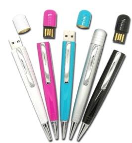สั่งทำ ขายส่งแฟลชไดร์ฟปากกา และรับผลิต flash drive พร้อมกล่องสีดำ ดูหรูหรา