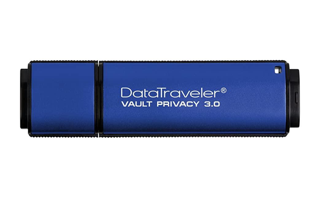 คิงส์ตันราคาส่ง ติดโลโก้ ประกันห้าปี Privacy Vault Digital 4GB