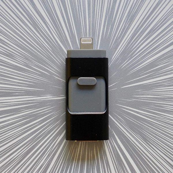 รับผลิต แฟลชไดร์ฟไอโฟนราคาส่ง Flash Drive iPhone External Storage