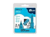 สั่งทำ PNY Micro Attache City Series USB Flash Drive ราคาถูก