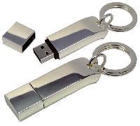 รับผลิต Metal Key Ring Design Flash Drive และขายส่งแฟลชไดร์ฟโลหะ