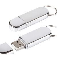 ผลิต แฟลชไดร์ฟพวงกุญแจโลหะ สั่งทำ Metal Key Ring USB Flash Drive