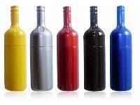 ผลิต แฟลชไดร์ฟขวดน้ำ ทรัมไดร์ขวดน้ำอัดลม แฟนซี วัสดุพลาสติก เลือกสีได้