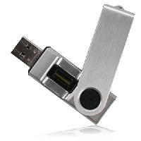 สั่งทำ Fingerprint USB Flash Drive แฟลชไดร์ฟที่มาพร้อมกับระบบสแกนลายนิ้วมือ