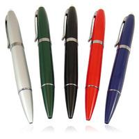 รับผลิต แฟลชไดร์ฟพรีเมี่ยม แบบปากกา สั่งทำ flash drive premium ผิวมัน สีสันสดใส