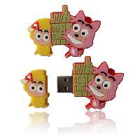 แฟลชไดร์ฟ cartoon น่ารัก บริษัทขาย usb thumb drive พร้อมกล่อง