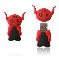 สั่งทำ จำหน่าย ยูเอสบี พร้อมเลเซอร์ข้อความ flash-drive cartoon ราคาถูก