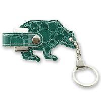 สั่งผลิต แฟลชไดร์ฟหนังรูปหมีขั้วโลกเหนือ ราคาส่ง และรับทำพวงกุญแจแฮนดี้ไดร์ฟ