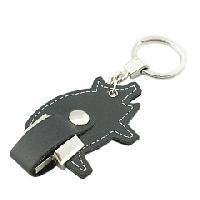 ขายแฟลชไดร์ฟหนังรูปหมู ดีไซน์รูปสัตว์ แบบพวงกุญแจ กะทัดรัดพกพาสะดวก