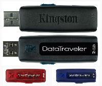 ขายส่ง คิงส์ตันแฟลชไดร์ฟ รุ่น DT-100 ราคาถูก และรับทำ flash drive พรีเมี่ยม