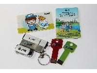 แฟลชไดร์ฟพรีเมี่ยม สั่งผลิต พร้อมสกรีนโลโก้ เป็นของที่ระลึก PTT Gift Set