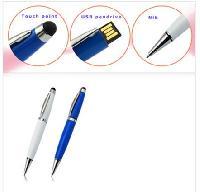 Pen USB Flash Drive ขายแฟลชไดร์ฟปากกา พร้อมทัชสกรีนใช้สัมผัสหน้าจอ