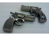 รับผลิต Metal Flash Drive รูปปืน ราคาถูก ขายส่ง แฟลชไดร์ฟโลหะปืน เท่ๆ