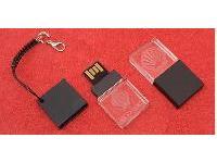 แฟลชไดร์ฟคริสตัล ขายส่ง Flash Drive ขนาดเล็กและบาง พร้อมสกรีน ราคาถูก