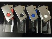 แฟลชไดร์ฟคริสตัล สกรีนโลโก้ flash drive ราคาส่ง ทรัมไดร์ อะคริลิค พรีเมี่ยม