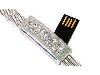 รับผลิต แฟลชไดร์ฟสายรัดข้อมือ กำไล usb flash drive ริสแบนด์ พร้อมสกรีน