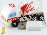 แฟลชไดรฟ์รถปูนอินทรี สั่งทำ แฟลชไดร์ฟรูปแบบใหม่ soft PVC flash drive