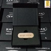รับผลิต กล่องกระดาษสีดำฝาปิดแถบแม่เหล็กขนาด(ฝาติดกับกล่อง)110*85*26