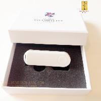 รับผลิต กล่องกระดาษสีขาว ฝาแยก ขนาด 120*85*26 mm
