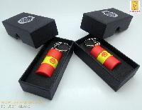 รับทำ กล่องกระดาษสีดำ ฝาแยก ขนาดเล็ก 90*45*25 mm