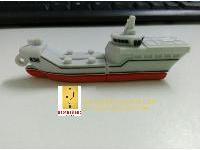 รับผลิต PVC Flash Drive แฟลชไดร์ฟเรือรบ การ์ตูน ยางหยอด สวยๆ ราคาส่ง