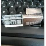 แฟลชไดร์ฟ คริสตัล ฝาขัดทราย สกรีนโลโก้ บริษัท BME ของแจก ราคาโรงงาน