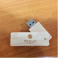 รับทำ USB Flash Drive สลักโลโก้ (ภูเก็ต) รับทำโลโก้ แฟลชไดร์ฟไม้ ราคาส่ง