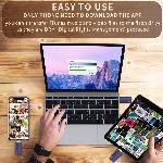รับทำ แฟลชไดร์ฟไอโฟน USB Flash Drive iPhone 256GB External Storage