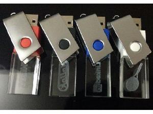 สั่งผลิต ขายส่ง flash drive แฟลชไดร์ฟ คริสตัล ติดโลโก้ BMW สวยงาม คุณภาพดี