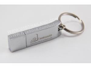 รับทำ ขายส่ง แฟลชไดร์ฟสกรีนโลโก้ บ.Doorguard โรงงานผลิต แฮนดี้ไดร์ฟ โลหะ