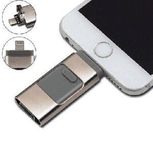 สั่งทำ แฟลชไดร์ฟ OTG 3 in 1 ต่อมือถือไอโฟน และโทรศัพท์แอนดรอยด์ได้