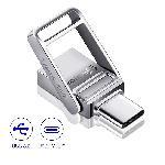Metal 2in1 Keychain OTG ขายส่งแฟลชไดร์ฟ Premium พรี่เมี่ยม