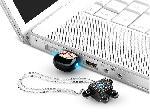 รับผลิต แฟลชไดร์ฟการ์ตูน ติดคริสตัล Robot Crystal USB Memory Key 2GB