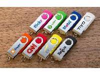 Twister USB Flash Drive Screen Printing พร้อมสกรีนโลโก้ ราคาถูก